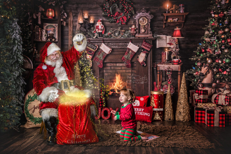 Santa photos in London ontario