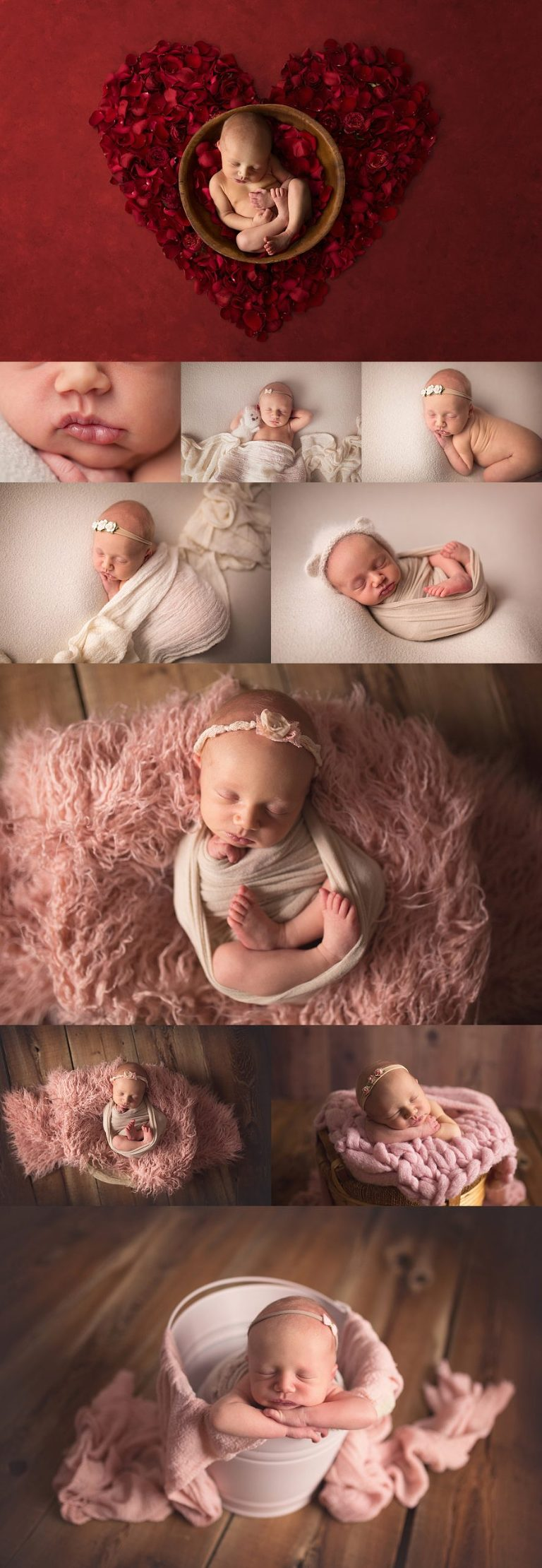baby girl newborn session by McCarthy Photography in London Ontario